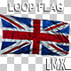 United Kingdom Loop Flag - VideoHive Item for Sale