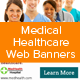 Medical Healthcare Web Banners - GraphicRiver Item for Sale