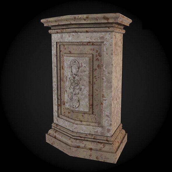 3DOcean Pedestal 012 6242922