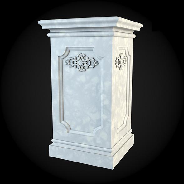 3DOcean Pedestal 018 6243479