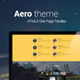 Aero One Page Creative Parallax - ThemeForest Item for Sale
