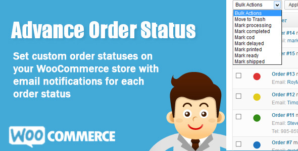 CodeCanyon WooCommerce Advance Order Status 6222931