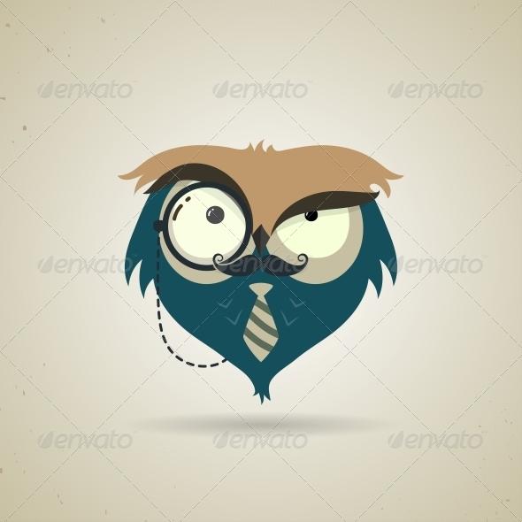 GraphicRiver Cartoon Owl 6244990