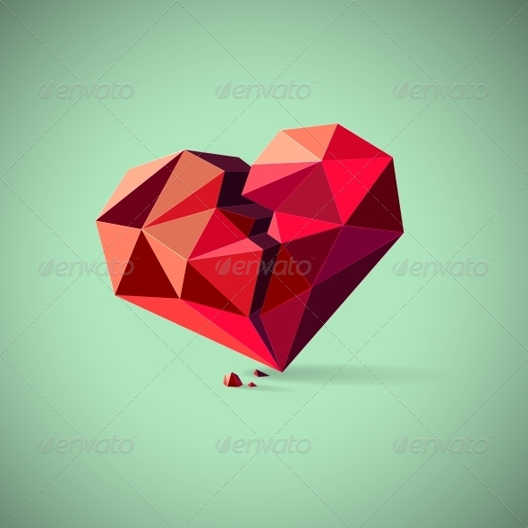 GraphicRiver Broken Heart 6245133