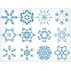 Snowflakes for Christmas Decor Set - GraphicRiver Item for Sale