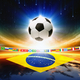 Soccer ball with brazil flag - PhotoDune Item for Sale