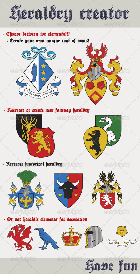 GraphicRiver Heraldry Creator 6245751