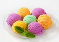 Scoops of ice cream - assorted flavors - PhotoDune Item for Sale
