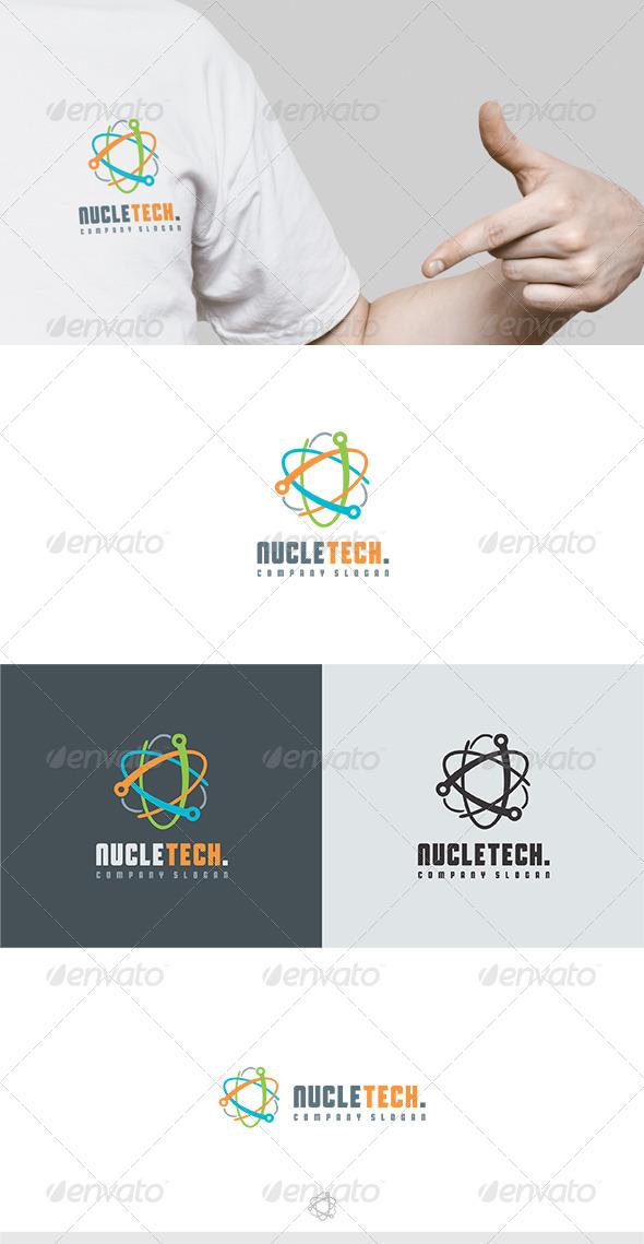 GraphicRiver Nucletech Logo 6246770