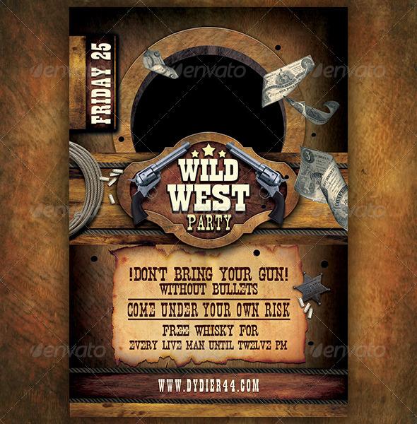 Wild West Powerpoint Template Mandegarfo