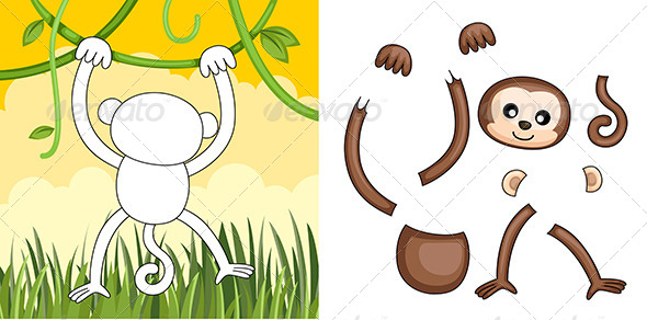 GraphicRiver Monkey Puzzle 6246927