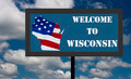 Wisconsin Sign - PhotoDune Item for Sale