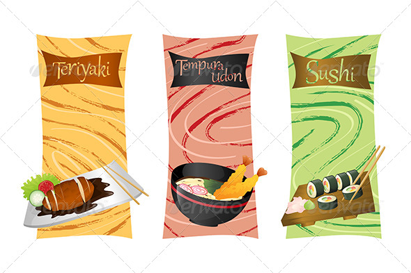 GraphicRiver Asian Food Menu 6248215