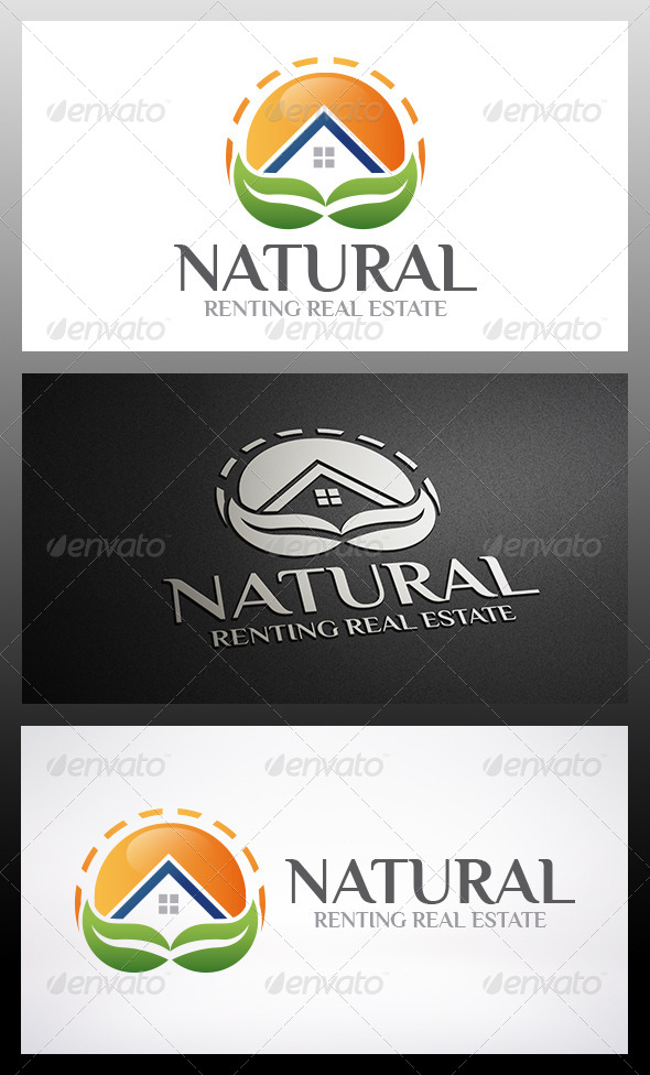 GraphicRiver Eco House Logo 6248626