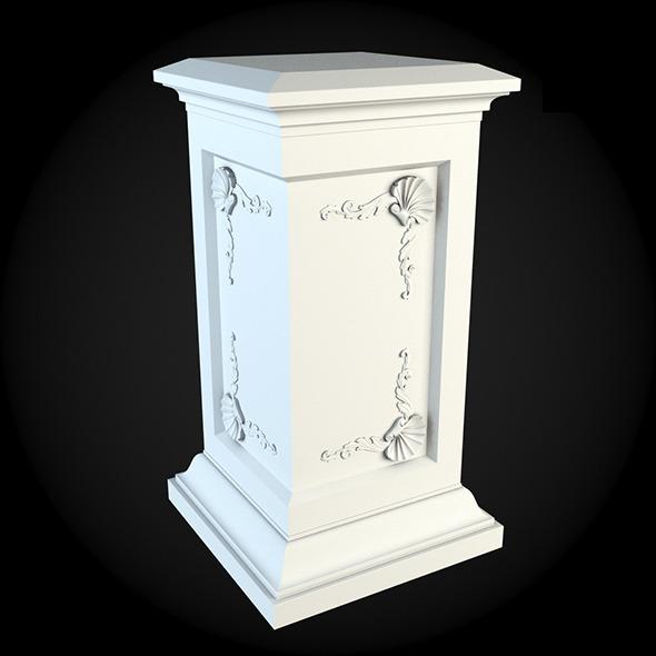 3DOcean Pedestal 031 6249529