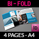 Company Brochure Bi-Fold Template Vol.9 - GraphicRiver Item for Sale