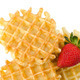Waffles and strawberry - PhotoDune Item for Sale