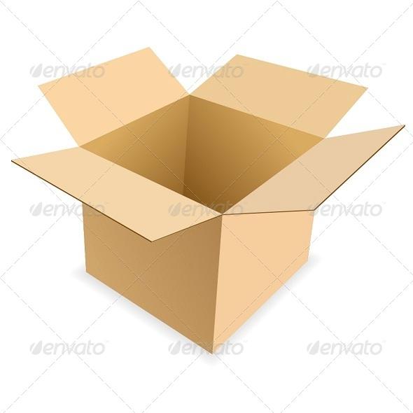 GraphicRiver Carton Box 6250155