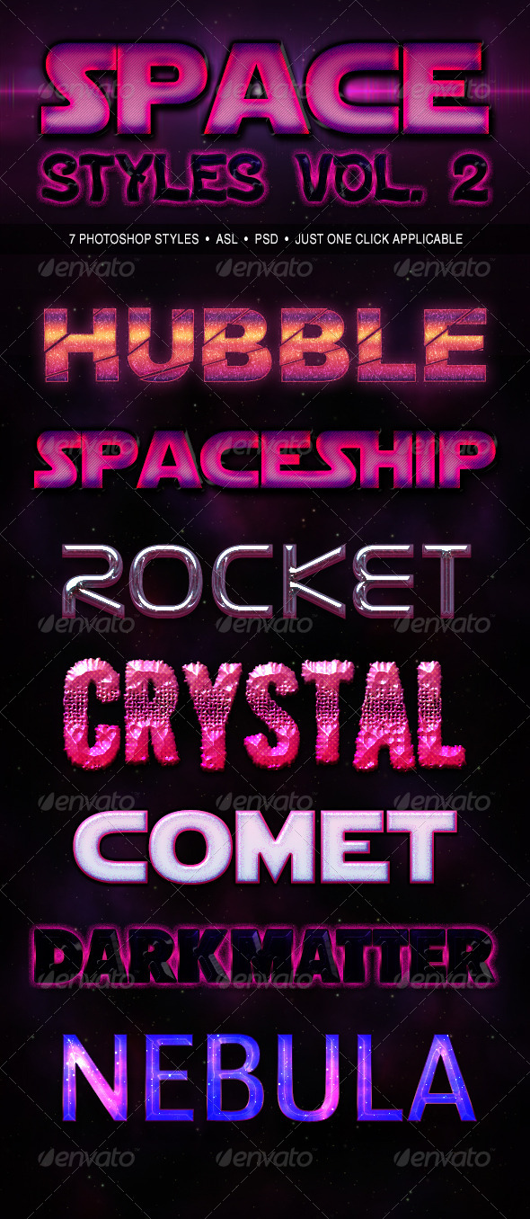 GraphicRiver Space Styles Vol 2 6251302