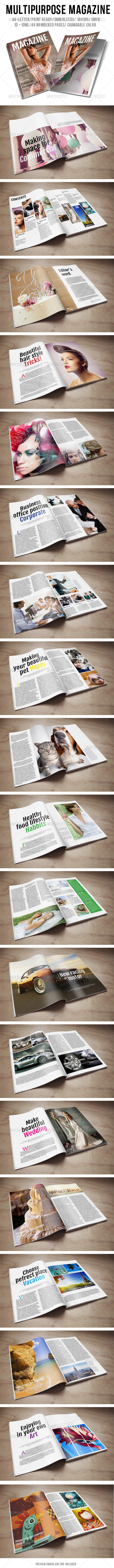 GraphicRiver Multipurpose Magazine 6251788
