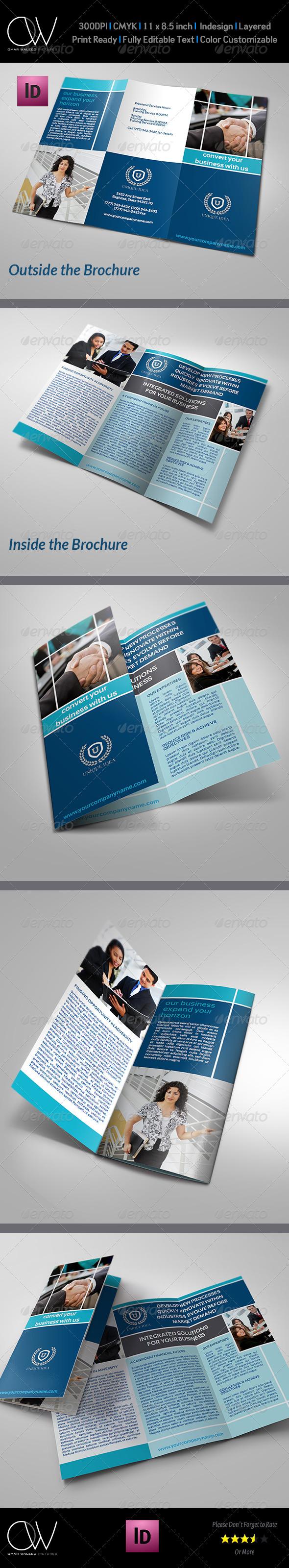 GraphicRiver Company Brochure Tri-Fold Brochure Vol.4 6251854
