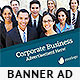 Corporate Web Banner Design Template 32 - GraphicRiver Item for Sale