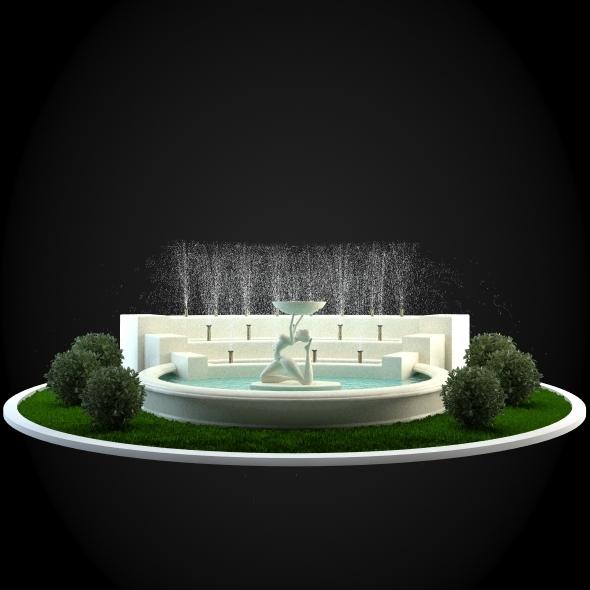 3DOcean Fountain 031 6252086