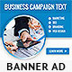 Corporate Web Banner Design Template 33 - GraphicRiver Item for Sale