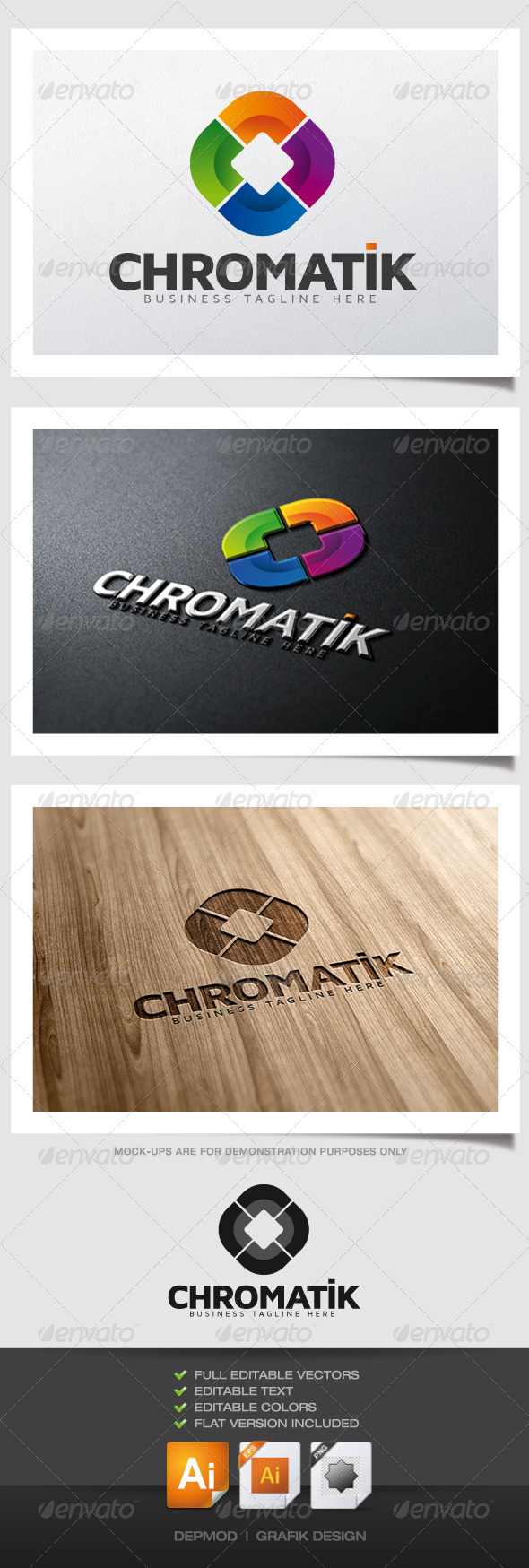 GraphicRiver Chromatik Logo 6252204