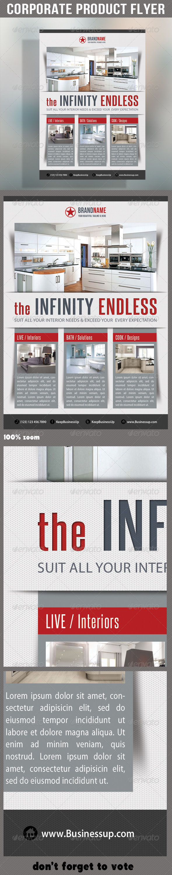 GraphicRiver Corporate Product Flyer 50 6252258