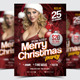 Merry Christmas Party Flyer/Poster - 05 - GraphicRiver Item for Sale