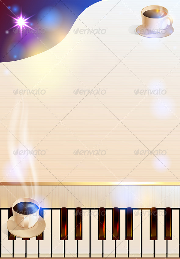 GraphicRiver Coffee and Piano 6249093