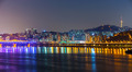 Seoul city skyline at night - PhotoDune Item for Sale