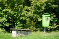 Green waste bin - PhotoDune Item for Sale