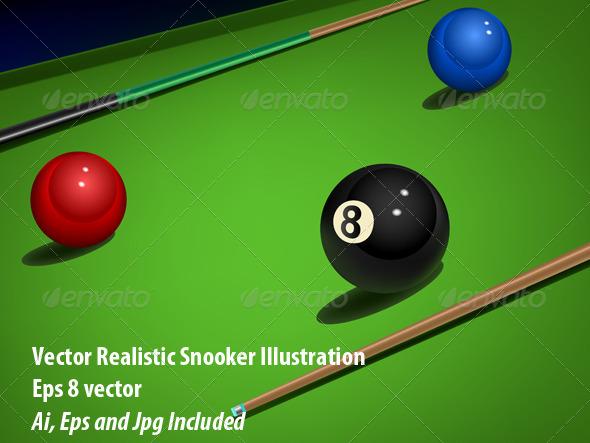 GraphicRiver Snooker 6254288