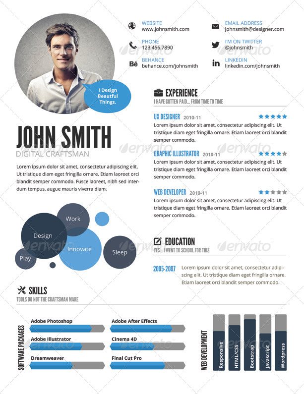 Opposenewapstandardsus  Fascinating Infographic Resume Templates Cvs Resume Example Sample Build Good  With Great Sample  With Amazing Indesign Resume Template Also Resume Pdf In Addition Accounts Payable Resume And Keywords For Resumes As Well As Federal Resume Example Additionally Parts Of A Resume From Crushchatco With Opposenewapstandardsus  Great Infographic Resume Templates Cvs Resume Example Sample Build Good  With Amazing Sample  And Fascinating Indesign Resume Template Also Resume Pdf In Addition Accounts Payable Resume From Crushchatco