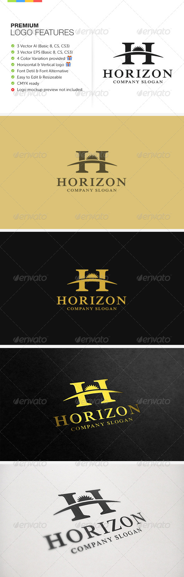 GraphicRiver Horizon Logo 6254435