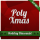 Poly Xmas Web Banner Ads - GraphicRiver Item for Sale