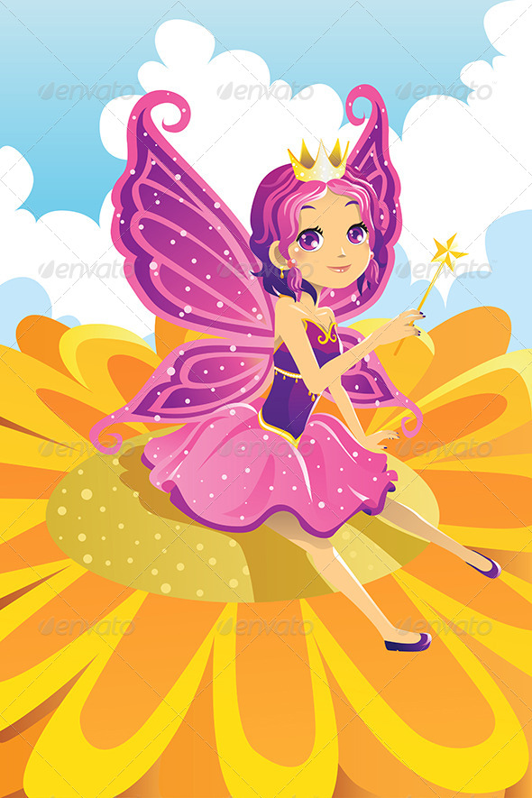 GraphicRiver Fairy Princess 6255198