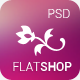 The New Flat Shop - PSD Template - ThemeForest Item for Sale