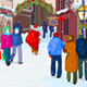 Christmas Shopping Street  - GraphicRiver Item for Sale