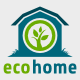 Eco Home Logo  - GraphicRiver Item for Sale