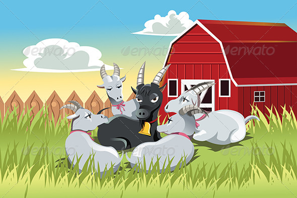 GraphicRiver Goats 6255965