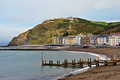 Colourful buildings by North Beach, Aberystwyth - PhotoDune Item for Sale