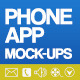 Phone App Mock-Ups - GraphicRiver Item for Sale