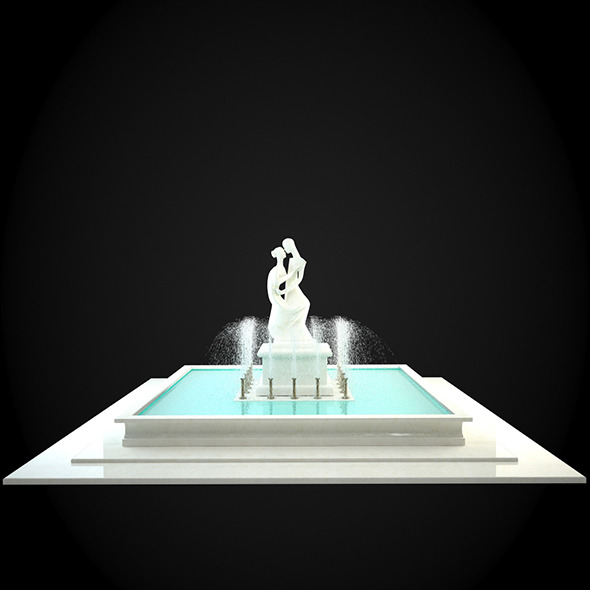 3DOcean Fountain 039 6257131