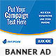Bluestatic Web Banner - GraphicRiver Item for Sale