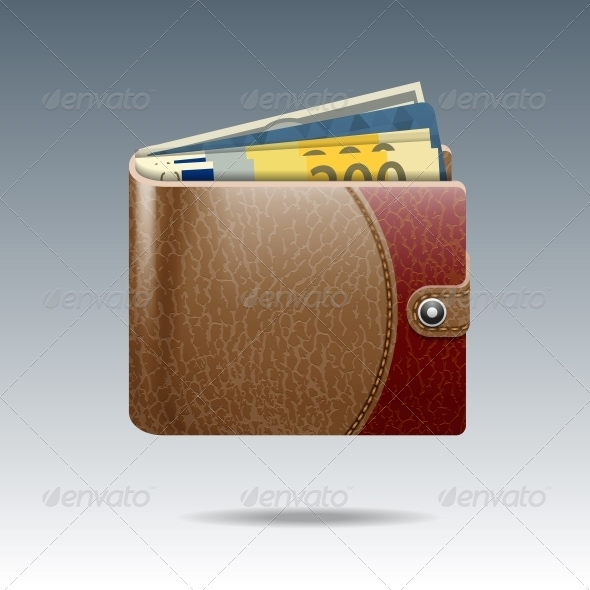 GraphicRiver Leather Wallet 6259892
