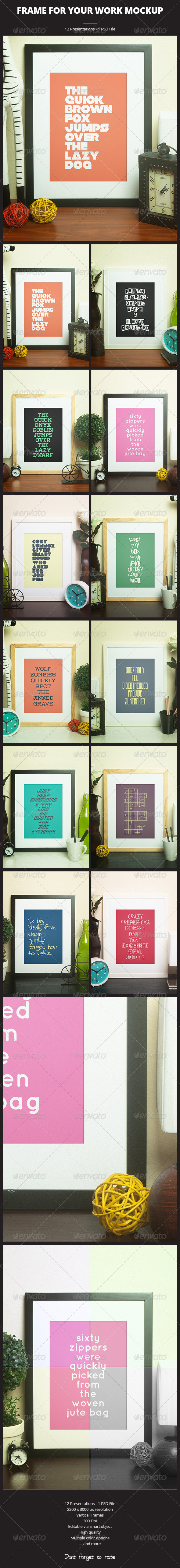 GraphicRiver Frame For Your Work 6260676