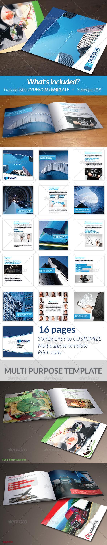 GraphicRiver Square Multipurpose Brochure 6261834
